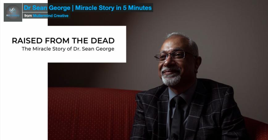 Dr Sean George – Miracle Story