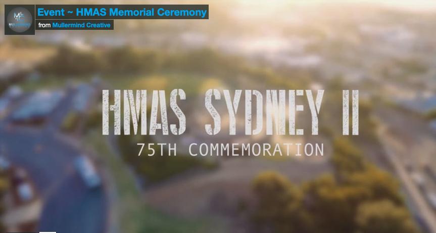 75th Hmas Sydney Memorial