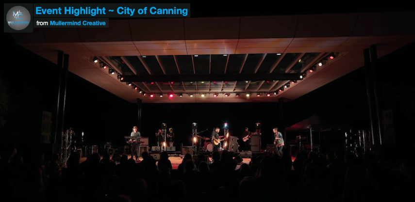 City of Canning – Concert